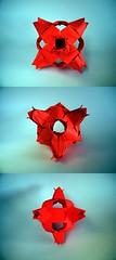 Tulip Cube - Meenakshi Mukerji (Rui.Roda) Tags: origami modular cube tulip papiroflexia cubo meenakshi mukerji papierfalten