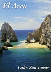 postcard - Los Cabos, Cabo San Lucas (Jassy-50) Tags: rock mexico cabo postcard cabosanlucas loscabos elarco