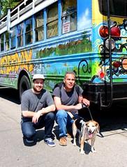 Tommy Sheridan- Thom Sheridan- Charlie (Thom Sheridan) Tags: dog bus beagle cleveland charlie tommysheridan 2016 universitycircle thomsheridan