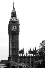 Big Ben (howellt) Tags: blackandwhite london clock bigben clocks ststephenscathedral
