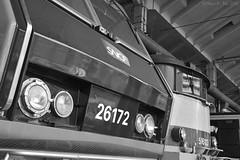 BB26172 & 16113 (Oliver_A) Tags: paris train la exposition depot chapelle sncf bb26000 bb16000 bb26172 bb16113