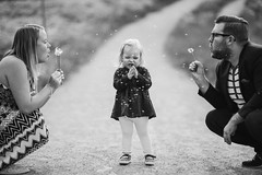 Untitled (JuNu_photography) Tags: life road family blackandwhite bw love girl childhood canon eos blackwhite dof child bokeh path mark f14 iii father 14 joy mother 85mm sigma dandelion seeds maternity 5d tease fullframe girlie ff 5d3 5dmarkiii sigma85mmf14exdghsm sigma85mmf14