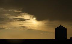 Grain Bin (wrighteye) Tags: sunset canon 50mm golden grande prairie 12l