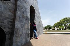 Georgette (Garrett.Williams) Tags: africa green stone memorial ground international ghana burial accra