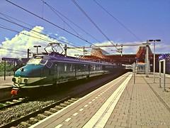 """Stichting Mat'54-Hondekop Vier NS-766 """"Tunnel-Express"""" Lelystad-Centrum (Nederland)"""