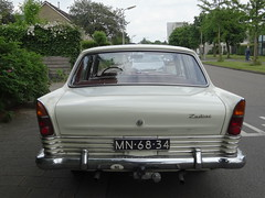 MN-68-34 1963 Ford Zephyr Zodiac Amersfoort (willemalink) Tags: ford zephyr zodiac amersfoort 1963 mn6834