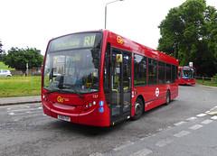 GAL MB 157 - YX60FUY - NSF - SIDCUP QM HOSPITAL - MON 13TH JUNE 2016 (Bexleybus) Tags: london ahead hospital kent go queen route 200 marys dennis enviro metrobus tfl 157 adl sidcup goahead r11 yx60fuy