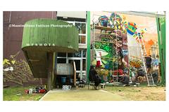 6956 (Massimiliano Fattizzo p.) Tags: street blackandwhite italy streetart milan colors graffiti colours milano colori