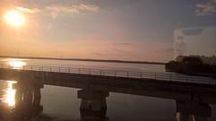Trip to Massachusetts (heytampa) Tags: sunrise river scenic amtrak potomacriver silvermeteor