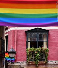 Bilbao Pride (wuploteg1) Tags: old viktor town calle spain pride victor bilbao viejo casco vasco euskalherria euskadi vizcaya bilbo calles pais siete correo kalea orgullo pas bidebarrieta sombrereria sombrerera