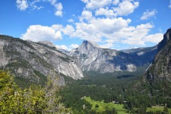A view of Yosemite Valley (Marek Lubas) Tags: sky mountain clouds nationalpark nikon valley yosemite halfdome yosemitevalley d5300
