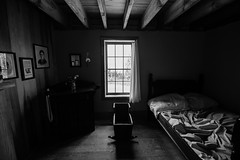 Old Room (Love Any Kind of Photography) Tags: blackandwhite up spring michigan room indoor 2016 fayettehistoricstatepark