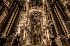Cathedral (mcalma68) Tags: italy church architecture cathedral interior sicily cefalu gothicarchitecture