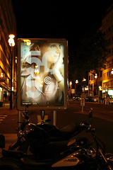 55 Semaine de la critique (Steph Blin) Tags: semainedelacritique cannes films festival movies cinma nuit night rue affiche poster sucette urban urbain 06 france avenue motos motorcycles trottoir street city ville ctedazur 2016