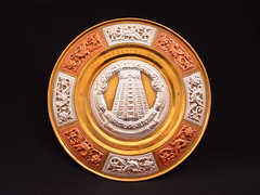 Tanjore Art Plate (City of Adelaide) Tags: cityofadelaide cityofadelaideciviccollection plates tanjoreartplate gifts madurai