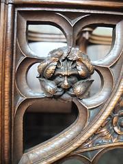 Tideswell St John The Baptist (richarddubreq) Tags: church derbyshire peakdistrict folklore carving tideswell greenman customs stjohnthebaptist cathedralofthepeak
