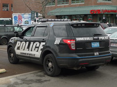 Somerville PD Ford Police Interceptor Utility (JLaw45) Tags: road street new england urban usa black ford boston america cops state metro massachusetts united explorer north newengland police utility company somerville area vehicle metropolis law motor states enforcement mass suv taurus northeast metropolitan beantown interceptor crossover