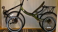 "QX100 with 406/20"" tires (gunnsteinlye) Tags: bicycle norway quest recumbent skien cruzbike"