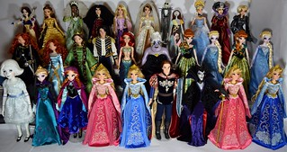 My Disney Store Limited Edition 17'' Doll Collection - 2014-11-01