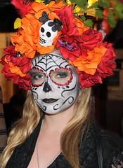 2014 Day of the Dead (Karol Franks) Tags: family dayofthedead losangeles memorial aztec ceremony diadelosmuertos procession tradition precolumbian karolfranks 2014 wwwolverastreetcom karolfranksgmailcom