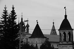 The tops (Kluchevsky) Tags: bw church blackwhite top cupola