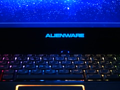 My Alienware laptop (Q8_Hobby) Tags: lighting light game color apple colors computer notebook hardware pc hp keyboard technology laptop games dell software intel microsoft alienware