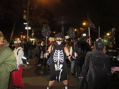 Ryan Janek Wolowski as a skeleton chef marching in the New York City Annual Village Halloween Parade (RYANISLAND) Tags: new york city nyc newyorkcity costumes ny newyork halloween dayofthedead skeleton costume 14 gothic goth parades parade samhain fantasy bones bone celtic skeletons fancydress halloweenparade happyhalloween trickortreating 2014 divination díadelosmuertos dayofdead díademuertos allsaintseve thedayofthedead costumeparties makingjackolanterns samhainfestival allhalloween allhallowsev lightingbonfires