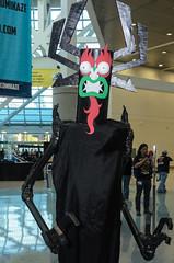 Comikaze 2014 - Aku (rikiomgawa) Tags: costumes losangeles nikon cosplay aku lightroom samuraijack losangelesconventioncenter d7000 conventionevents comikazeexpo