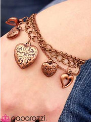 5th Avenue Copper Bracelet K1 P9820-4