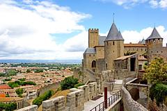 "france castle church sony free walls dennis jarvis fortifications carcassonne lafrance globus iamcanadian ""la france"" freepicture dennisjarvis archer10 dennisgjarvis nex7 18200diiiivc comtalchateau"