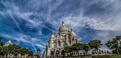 La Basilique du Sacr Cur de Montmartre (Another Eye) Tags: paris canon montmartre coeur sacre tokina