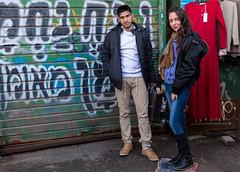 Sahar & Eden - Strangers # 1042 / 1100 (Poupetta) Tags: israel telaviv couple young strangers eden sahar
