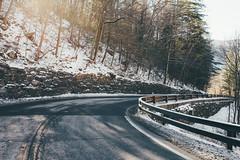 18 (Hreilly) Tags: road new york winter snow ice sunrise season upstate winding