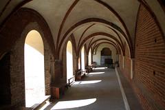 Cloister (raffaele pagani) Tags: italy canon italia gothic lombardia gotico morimondo cistercians cistercense abbaziadimorimondo morimondoabbey