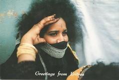 Rashaida Woman (tico_manudo) Tags: africa eritrea postcards rashaidawoman
