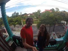 Photo de 14h - Sur le balcon de notre chambre (Hoi An) - 3.12.2014
