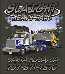 "Slaight Heavy Haul - Santa Rosa, CA • <a style=""font-size:0.8em;"" href=""http://www.flickr.com/photos/39998102@N07/15764554180/"" target=""_blank"">View on Flickr</a>"