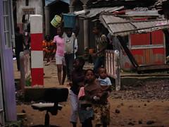 Kinder in Douala#Armut#Slum