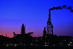 Bluemoment. (Bonvoyage7050) Tags: sunset landscape  magichour bluemoment