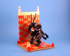 High Gravity Labor Frame 'Jack' - Sizing Box Rear (Jay Biquadrate) Tags: lego frame mecha mech moc microscale mfz mf0 mobileframezero
