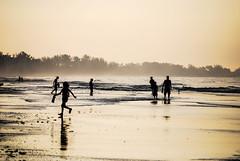 Beach Silhoutte