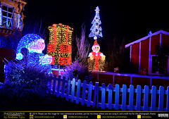 A Festive Scene (andrewtijou) Tags: christmas decorations light france europe nightshot noel nighttime fr calais pasdecalais nikond7000 andrewtijou
