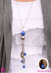Glimpse of Malibu Blue Necklace K2A P2720A-3