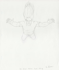 Metalocalypse - Nathan Explosion Signed Production Drawing (candoartist) Tags: animation animationart dethklok metalocalypse nathanexplosion productioncel productiondrawing