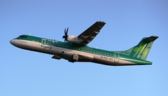 Aer Lingus Regional ATR ATR-72-600 EI-FCY (Mark 1991) Tags: edinburgh edi aerlingus atr atr72 edinburghairport aerlingusregional eifcy