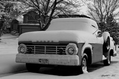 Dodge Snow (Greyshift11) Tags: snow canon landscape eos rebel colorado united neige states mm 45mm unis t3i 1445 200mm 14mm etats 600d