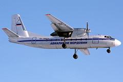 AN24_RA-08824_AvialiniiMordovii_DME (inal.khaev) Tags: russia dme an4 avialiniimordovii