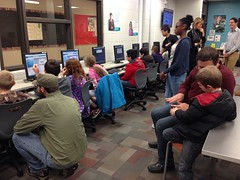 """2014 Hour of Code • <a style=""""font-size:0.8em;"""" href=""""http://www.flickr.com/photos/109120354@N07/16092964761/"""" target=""""_blank"""">View on Flickr</a>"""