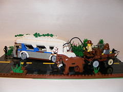 DSCF0006 (shumpei_sano_exp9) Tags: greyhound bus lego cart ruined apocalego headforthehillsapocalegocontest