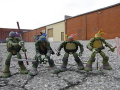 Heroes in a Half Shell (KickoBang) Tags: toys japanese action ninja turtles mutant figures tmnt teenage nickelodeon kaiyodo revoltech
